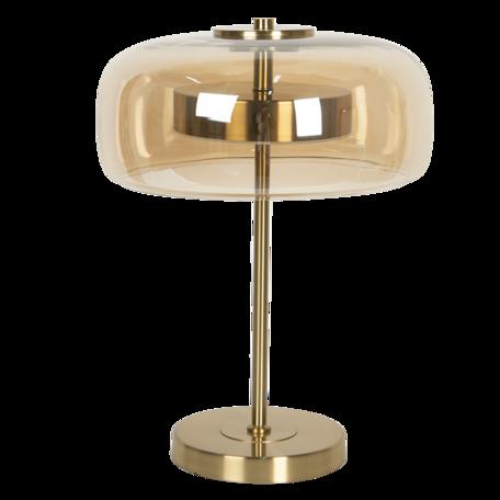 Tafellamp met lamp ø 33*33 cm LED Bruin   6LMP703CH   Clayre & Eef