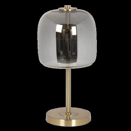 Tafellamp met lamp ø 23*43 cm LED Grijs   6LMP704G   Clayre & Eef