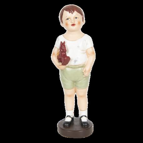 Decoratie jongen 13*12*40 cm Multi | 6PR3218 | Clayre & Eef