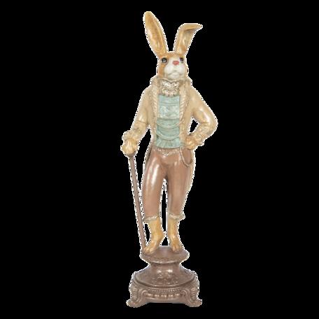 Decoratie konijn 14*11*44 cm Multi | 6PR3221 | Clayre & Eef