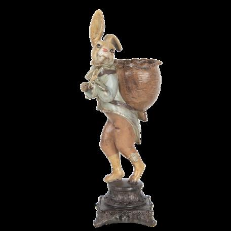 Decoratie konijn 15*13*41 cm Multi | 6PR3222 | Clayre & Eef