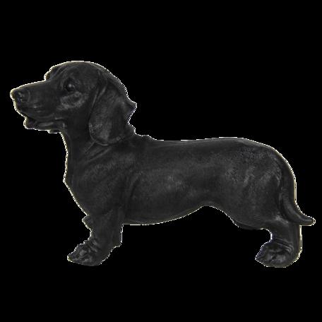 Decoratie hond 32*14*23 cm Zwart | 6PR3227 | Clayre & Eef