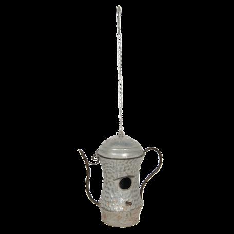 Decoratie Vogelhuis 32*19*35 cm Grijs | 6Y4140 | Clayre & Eef