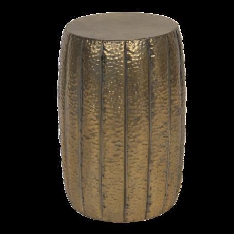 Bijzettafel ø 33*50 cm Bruin | 6Y4229 | Clayre & Eef