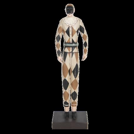 Decoratie harlekijn 13*10*45 cm Multi | 6PR3109 | Clayre & Eef