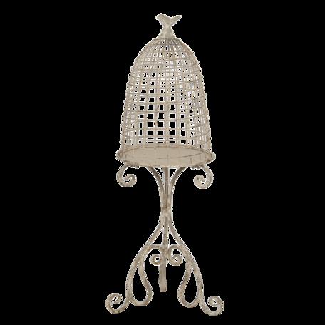 Decoratie vogelkooi 36*31*91 cm Creme | 5Y0811 | Clayre & Eef