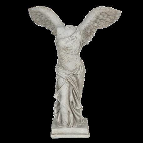 Decoratie beeld engel 17*10*24 cm Grijs | 6PR3229 | Clayre & Eef