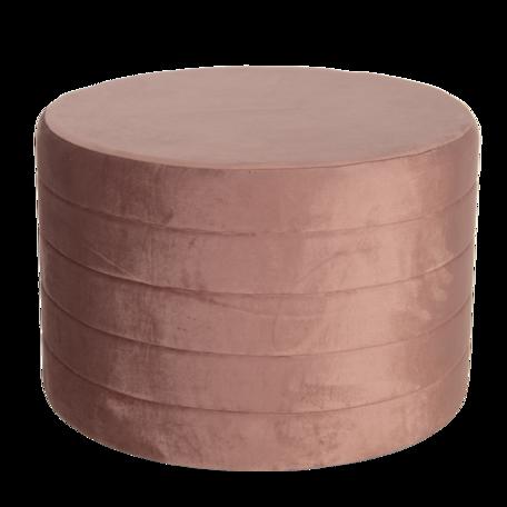 Hocker ø 60*40 cm Roze | 50499P | Clayre & Eef