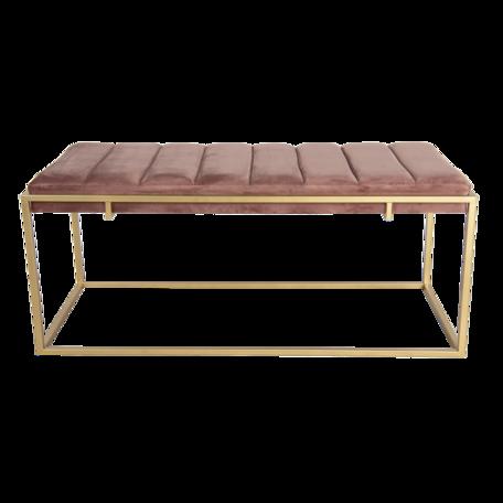 Hocker 110*50*46 cm Roze | 50500P | Clayre & Eef