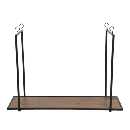 Hangend rek ø 40*100 cm Bruin | 5Y0781 | Clayre & Eef