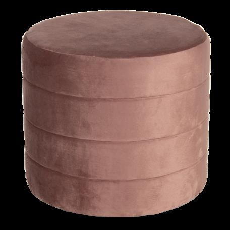 Hocker ø 40*35 cm Roze | 64727P | Clayre & Eef