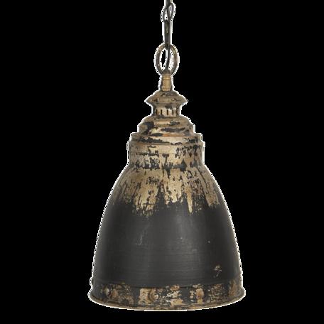 Hanglamp ø 28*45 cm E14/max 1*25W Bruin   6LMP701G   Clayre & Eef