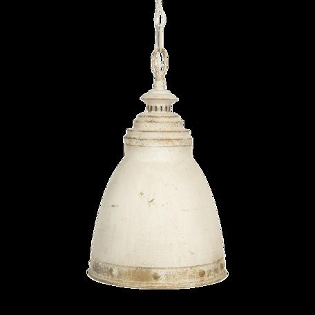 Hanglamp ø 28*45 cm E14/max 1*25W Zilverkleurig   6LMP701W   Clayre & Eef