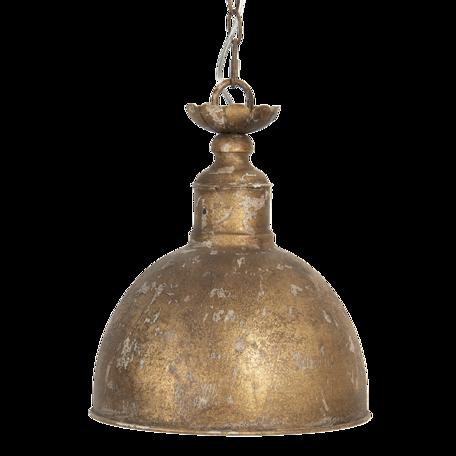 Hanglamp ø 29*35 cm E14/max 1*25W Koperkleurig   6LMP702   Clayre & Eef