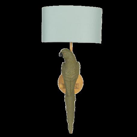 Wandlamp ø 23*44 cm E27/max 1*60W Groen | 5LMC0010 | Clayre & Eef
