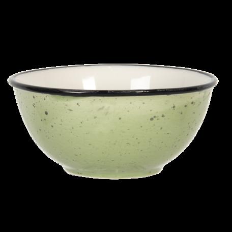 Kom ø 12*6 cm Groen | 6CEBO0052GR | Clayre & Eef