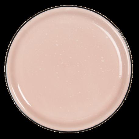 Klein bord ø 22*3 cm Roze   6CEDP0052P   Clayre & Eef