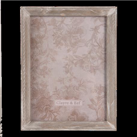 Fotolijst 17*2*22 cm / 13*18 cm Bruin | 2F0802 | Clayre & Eef
