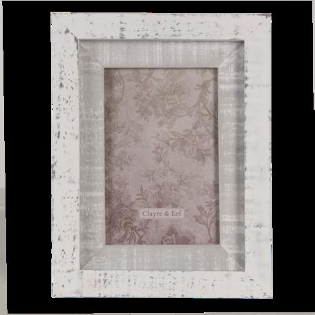 Fotolijst 17*2*22 cm / 10*15 cm Grijs | 2F0815 | Clayre & Eef
