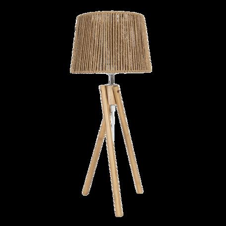 Tafellamp ø 27*65 cm E27/max 1*40W Bruin   5LMP641   Clayre & Eef