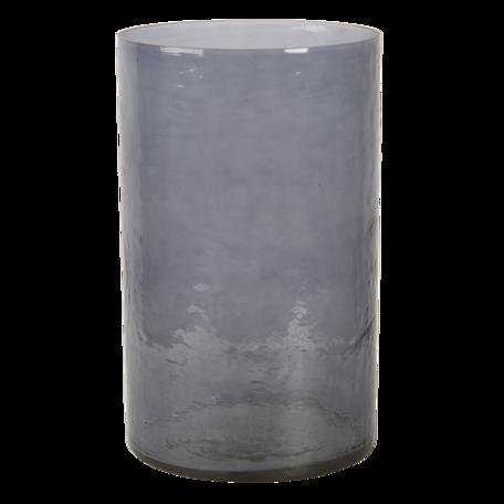Windlicht ø 15*25 cm Grijs | 6GL3021 | Clayre & Eef