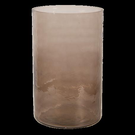 Windlicht ø 15*25 cm Bruin | 6GL3022 | Clayre & Eef