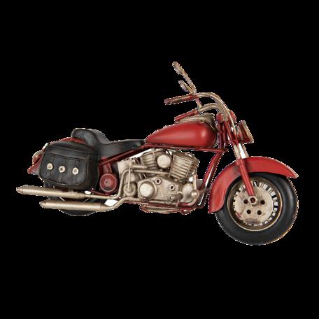 Model motor 28*9*15 cm Zwart   6Y4584   Clayre & Eef