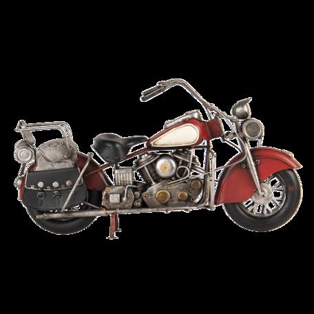 Flessenhouder motor 41*14*22 cm Rood | 6Y4582 | Clayre & Eef