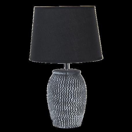 Tafellamp ø 25*41 cm / E27 Zwart   6LMC0042   Clayre & Eef