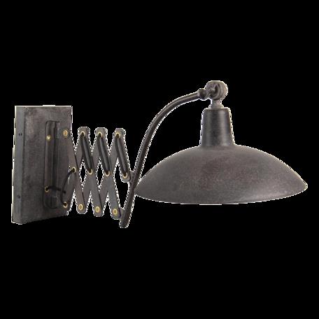 Wandlamp 55*33*34 cm E27/max 1*60W Zwart   6LMP714   Clayre & Eef