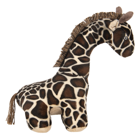 Deurstopper giraf 30*13*39 cm Multi   DT0310   Clayre & Eef