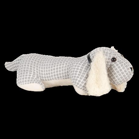 Deurstopper hond 36*15*24 cm Grijs   DT0313   Clayre & Eef