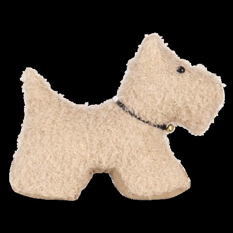 Deurstopper hond 32*12*28 cm Bruin   DT0315   Clayre & Eef
