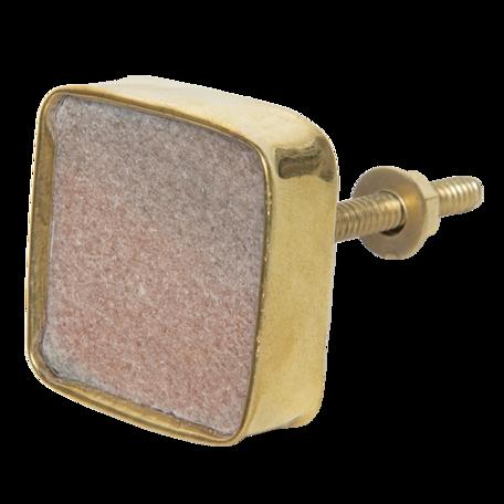 Deurknop 4*4 cm Roze | 64181 | Clayre & Eef