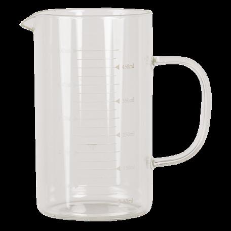 Kan / maatbeker 13*8*14 cm Transparant | 6GL2926 | Clayre & Eef