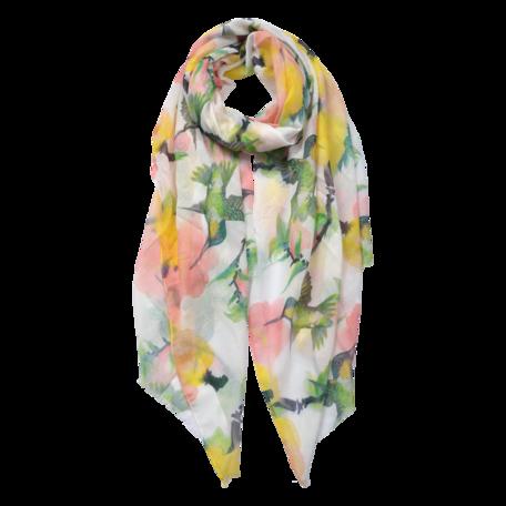 Sjaal 70*180 cm Geel | JZSC0556Y | Clayre & Eef