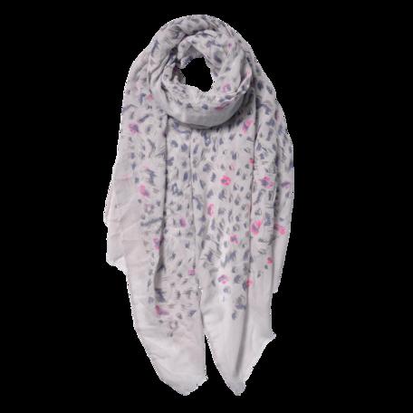 Sjaal 70*180 cm Grijs | JZSC0557BE | Clayre & Eef