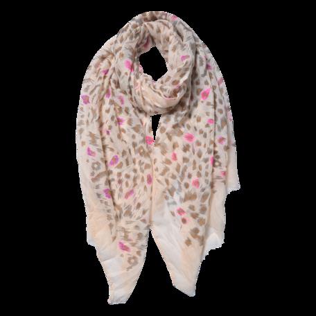 Sjaal 70*180 cm Beige | JZSC0557G | Clayre & Eef