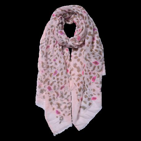 Sjaal 70*180 cm Roze | JZSC0557P | Clayre & Eef