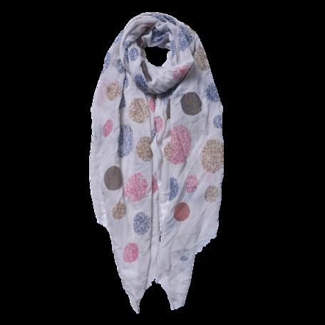 Sjaal 70*180 cm Grijs | JZSC0558G | Clayre & Eef