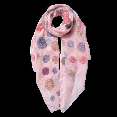 Sjaal 70*180 cm Roze | JZSC0558P | Clayre & Eef