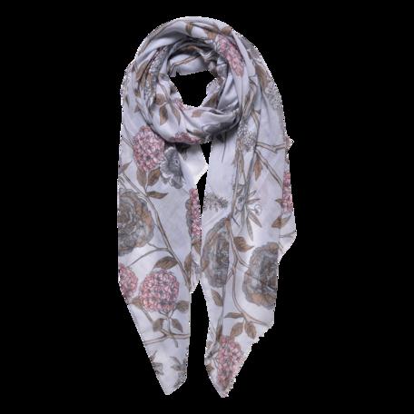 Sjaal 87*180 cm Grijs | JZSC0564G | Clayre & Eef
