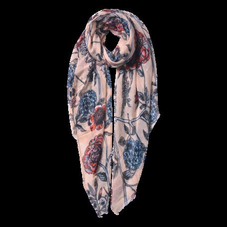 Sjaal 87*180 cm Roze | JZSC0564P | Clayre & Eef