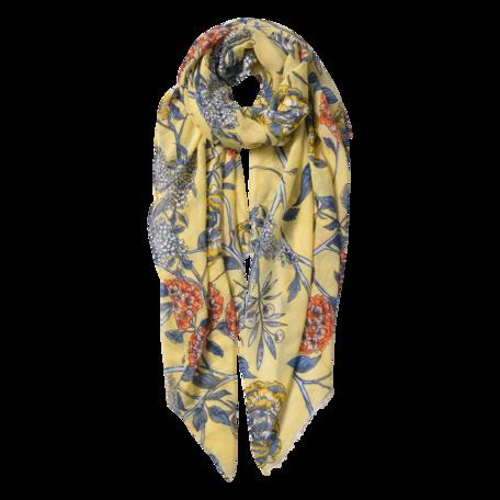 Sjaal 87*180 cm Geel | JZSC0564Y | Clayre & Eef