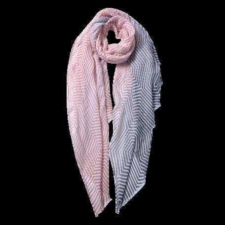 Sjaal 87*180 cm Roze | JZSC0566P | Clayre & Eef