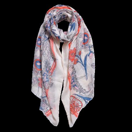 Sjaal 87*180 cm Beige | JZSC0567BE | Clayre & Eef