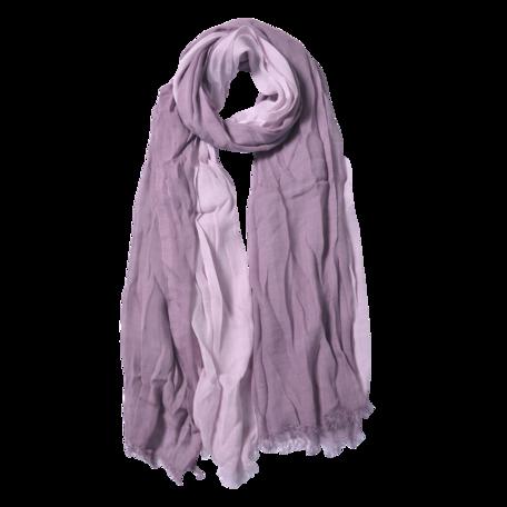 Sjaal 90*190 cm Paars | JZSC0588A | Clayre & Eef