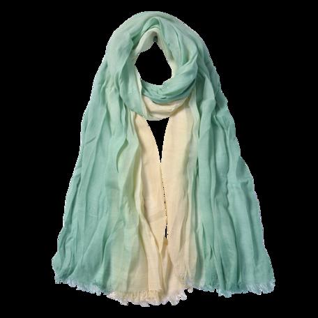Sjaal 90*190 cm Groen | JZSC0588GR | Clayre & Eef