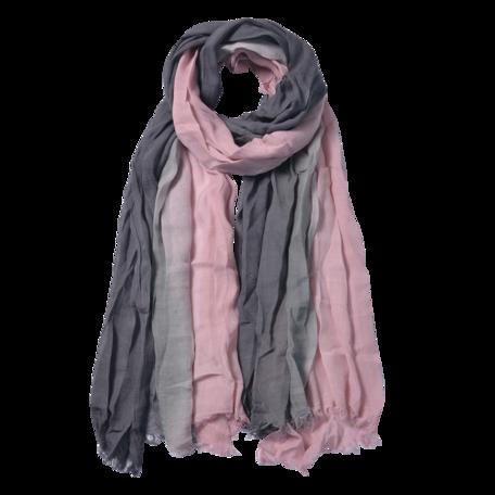 Sjaal 90*190 cm Roze | JZSC0588P | Clayre & Eef