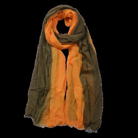 Sjaal 90*190 cm Geel | JZSC0588Y | Clayre & Eef